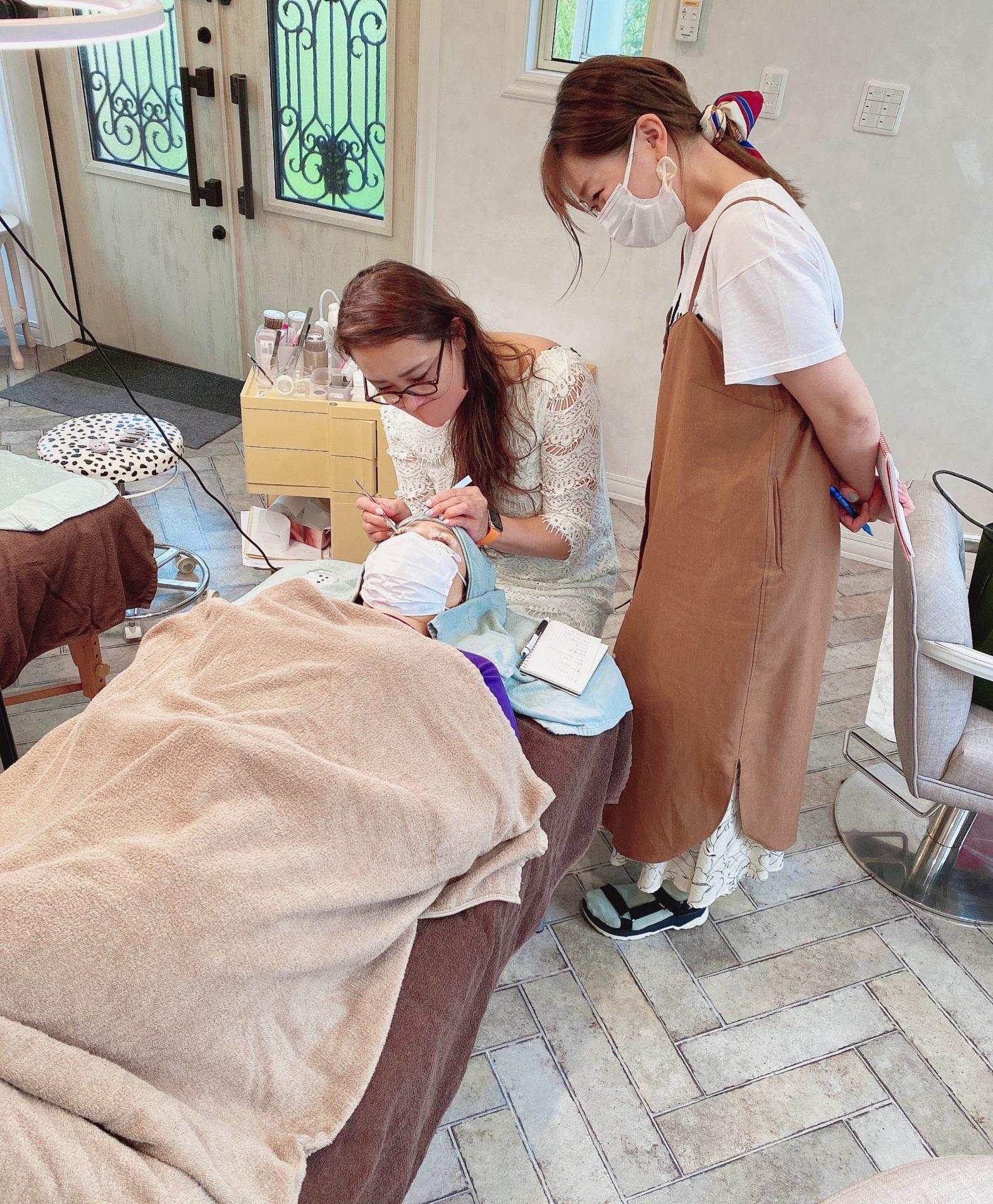 マツエク検定試験合格!